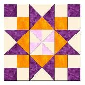 Pinwheel Star Paper Piecing Pattern-078A - via @Craftsy