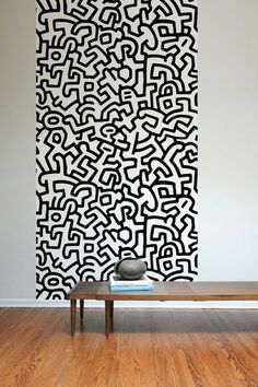 Pattern Wall Tiles - Commodification of Keith Haring.