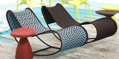 Cultured Home Accessories --- M ' Afrique café chair Funky Furniture, Garden Furniture, Furniture Design, Outdoor Furniture, Smart Furniture, Patricia Urquiola, Outdoor Chairs, Outdoor Decor, Outdoor Living