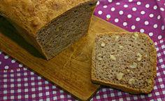 Veganes Brot, blitzschnell zubereitet.