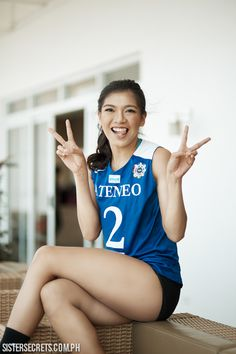 We're sure you're very excited to get to know our latest March Cover Girl for Sister Secrets, Alyssa Valdez! You may know her from Ateneo's Lady Eagles. Yup, she's the amazing spiker that everyone's been talking about. Alyssa Valdez, Maine Mendoza, Uzzlang Girl, Covergirl, Michael Jordan, Getting To Know, Volleyball, My Idol, Love Her