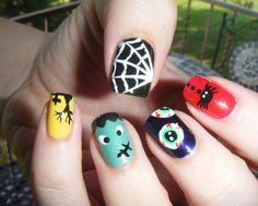 No Nekkid Nails - My favorite Halloween mani.