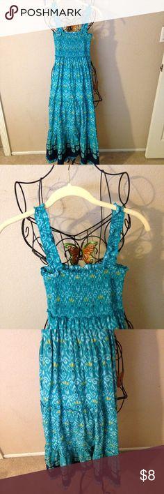 Girls summer maxi dress size XL cute look Cute dress Mudd Dresses Casual