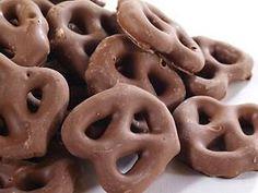 30 Piece Milk Chocolate Covered Mini Twist by SweetAverys on Etsy