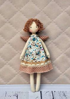 Isn't she lovely? Tilda angel by NilaDolss
