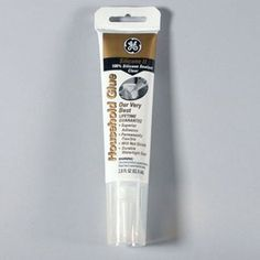 Our favorite glue, GE II [for glass projects]