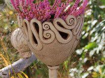 Gartenstecker Pokal~Windlicht