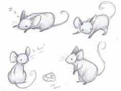 Drawing of a mouse easy pictures to draw of mickey mouse cartoon