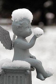 Blowing Snow Kisses....