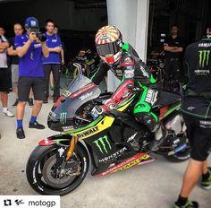 Let's. Go. ✊️ #2017StartsNow #MonsterEnergy #Yamaha #Tech3 #MotoGP #AllezJohann