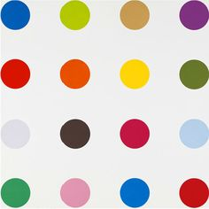 View this item and discover similar for sale at - Artist: Hirst, Damien Title: Nopaline Series: Spots Date: 2012 Medium: Woodcut on Somerset textured paper Unframed Dimensions: x Framed Polka Dot Art, Polka Dots, Damien Hirst, Art Abstrait, Paper Texture, Contemporary Artists, Graphic Art, Design Art, Pop Art