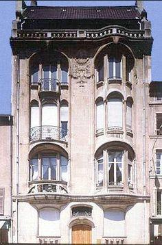 Eugène Vallin, Immeuble Margo, 1906, 86 rue Stanislas à Nancy.