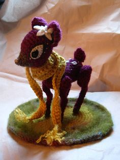 Amigurumi Deer : 1000+ images about CROCHET ~ BAMBI on Pinterest ...