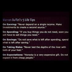 5 life tips by warren buffet  #warrenbuffett #warrenbuffettquotes #kurttasche