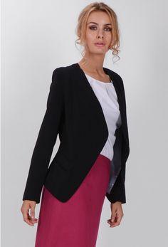 Sacou dama Fiorella Blazer, Model, Sweaters, Jackets, Fashion, Down Jackets, Moda, Fashion Styles, Sweater