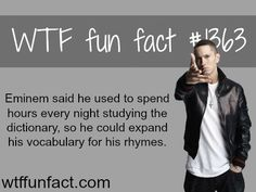 Eminem - people and celebs facts  MORE OF WTF FUN facts are coming HERE  relationships and fun facts