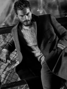 Jamie Dornan British GQ February 2015 - Christian Grey/ 50 Shades of Grey Sam Taylor Johnson, Dakota Johnson, Jamie Dornan, Nick Bateman, Eddie Redmayne, David Gandy, Christian Grey, Ranbir Kapoor, Michael Fassbender