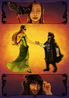 Kili and Tauriel: All the Right Moves by PharMafia-Soldier on DeviantArt
