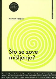 Martin Hajdeger - Sto se zove mišljenje PDF Download