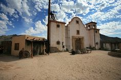 Old Tucson Studios, Arizona www.arizonasunshinetours.com and if youare interested in filmaking on a real Hollywood set be sure to visit Gammons Gulch in Benson, AZ about 60 miles south of Tucson and see Jay and Joanne for their fine collection of Hollywood memorabillia!