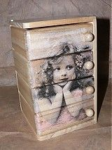 Krabičky - Krásna šperkovnica Dievčatko - štyri zásuvky - 1967530