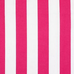 Classic Stripes 3 cm, 5 - Bomull - hot pink
