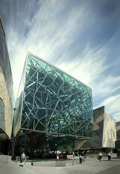 MATERIALS Application of Electrochromic glass - Federation Building, Melbourne.