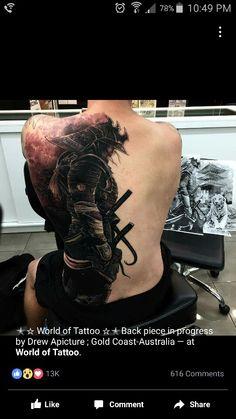Great idea for a samurai tattoo