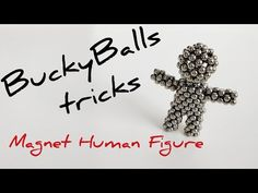 Learn how to make a human figure out of 216 NeoCube or Buckyballs cube sphere magnets. Check out DYI step by step tutorial. Cool Shapes, Balls, Cube, Magnets, Make It Yourself, Youtube, Crafts, Creative Crafts, Handmade Crafts