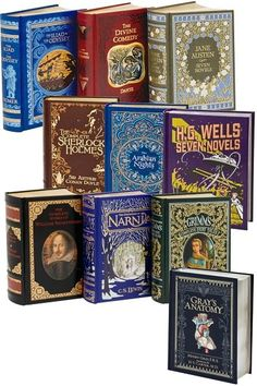 Barnes and Noble Leatherbound Classics... I have been collecting this series for several years for my future library.