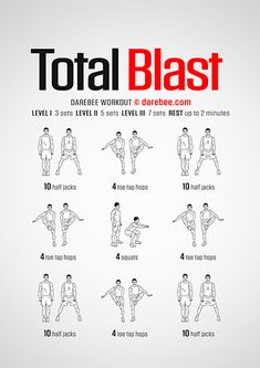 DAREBEE Workouts Body For Life Workout, Pull Up Workout, Workout Splits, Hiit Workout At Home, Boxing Workout, Butt Workout, Easy Daily Workouts, Hero Workouts, Workout Routines For Beginners