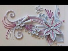 Quilling Made Easy # How to make Beautiful Design Flower using Quilling ...