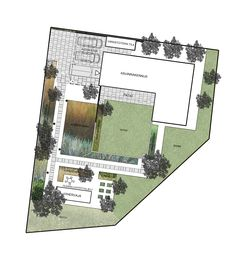 Garden plan Honka Lumi. Landscape Design, Garden Design, Wonderful Things, Garden Planning, Finland, House Plans, Floor Plans, Yard, Hacks