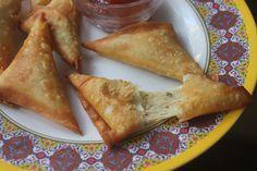 Cheese Samosa Recipe - Cheesy Samosa Recipe - Ramzan Iftar Recipes