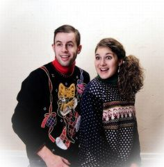 Larry wants to get sweaters like this for our Christmas pictures...what your you think Jill?