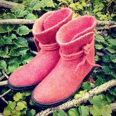 Botas de Fieltro Lub Dup - Felt Boots