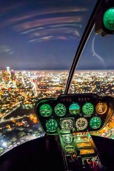 Qualification 'Vol de nuit' – Bestinsky hélicoptères