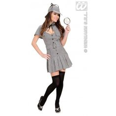 Disfraz de Detective Sherlock Mujer