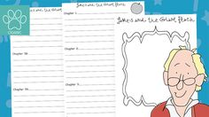 James and the Giant Peach - Story Summary A 14 page booklet which could be used as a whole class, group or individual activity. The idea of the booklet is to encourage children to summarise each chapter from the book as you read it or as it is read as a whole class. Perfect for teaching about summaries as well as focussing children on the key theme... - www.tpet.co.uk - Classroom Resources by Teacher's Pet Comprehension Ks2, Key Stage 2, The Giant Peach, Teacher's Pet, Tag People, Classroom Displays, Classroom Resources, Summary