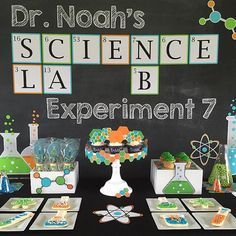 Science Party Scientist Birthday Mad by LillianHopeDesigns