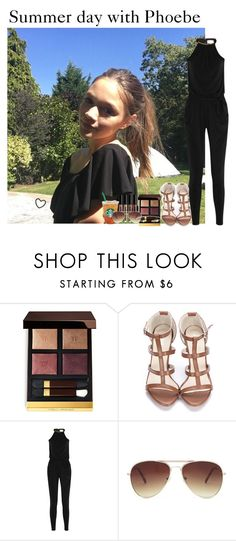 """""""Summer day with Phoebe"""" by mllestylesusa ❤ liked on Polyvore featuring Tom Ford, MICHAEL Michael Kors, Forever 21 and mizuki"""