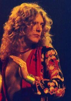 Robert Plant - Led Zeppelin, 1971 © Michael Putland