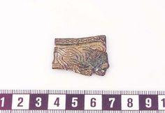 Fragment Bronze/gilt Viking ornament - Historiska.se
