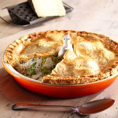 Roast Chicken and Leek Pie - Le Creuset Recipes