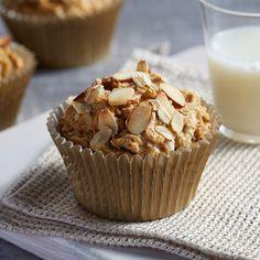 Almond Butter Muffins - Recipe | QuakerOats.com