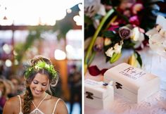Cajitas porta-anillos / para regalar o decorar Tul y Flores · Inspiración para tu boda