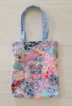 Mad For Fabric - DIY Liberty London Patchwork Tote Bag