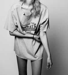 to wear oversized tops that are actually oversized, not fitting :(