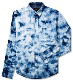 10 Deep Blue Cloud Shirt