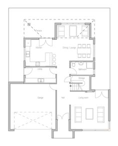 casasmodernas10houseplanch205jpg Plan Pinterest House